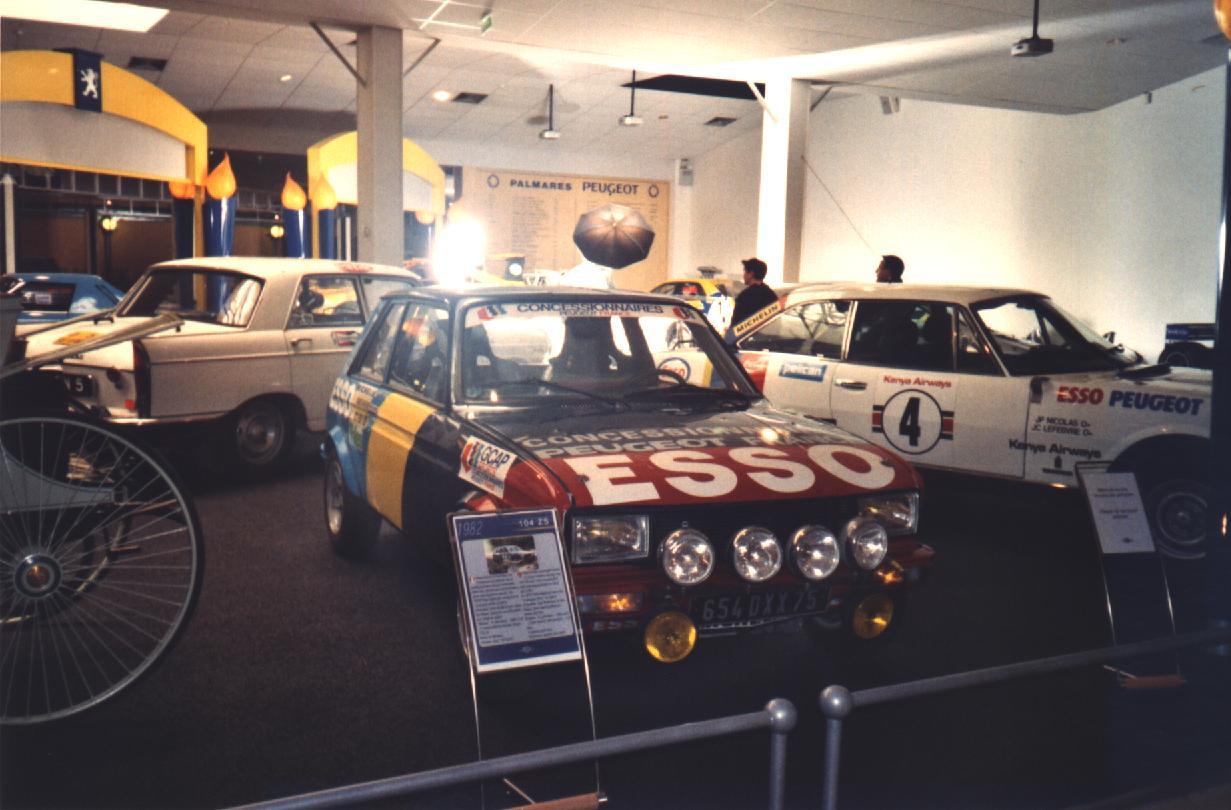 104 ZS de rallye